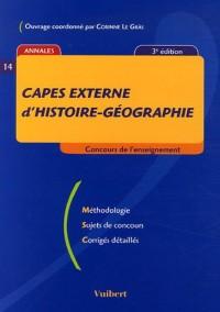 CAPES externe d'histoire-géographie
