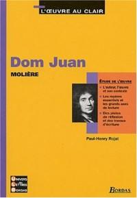 Dom Juan - Etude de l'oeuvre
