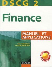 Finance DSCG 2 : Manuel et applications