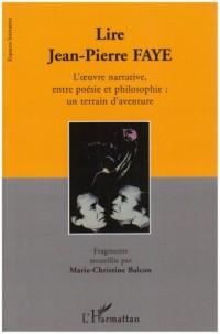 Lire Jean Pierre Faye