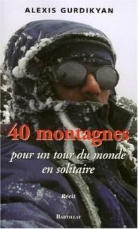 40 Montagnes pour un tour du monde en solitaire