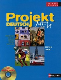 Projekt deutsch neu Allemand 2de : Programme 2003 (1CD audio)