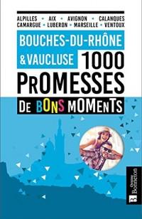 BOUCHES DU RHONE VAUCLUSE 1000 PROMESSES DE BONS