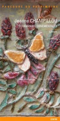 Jeanne Champillou, Ceramiques Ornemantales