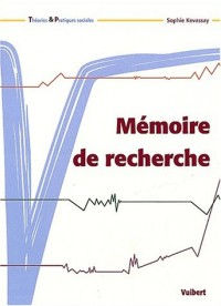 Mémoire de recherche