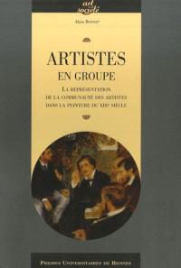Artistes en groupe : La représentation de la communauté des artistes dans la peinture du XIXe siècle