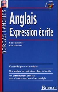 Bordas Langues : Expression écrite anglaise