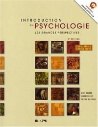 Intro à la psychologie 2e Ed - les grandes perspectives