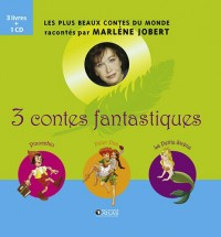 3 contes fantastiques : Coffret en 3 tomes : Pinocchio ; Peter Pan ; La Petite Sirène (1CD audio)