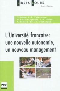 Université Française-Nouvelle Autonomie Nouveau Management
