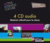 Coffret Active Business Culture Bts >B2 4 CD Audio 2012