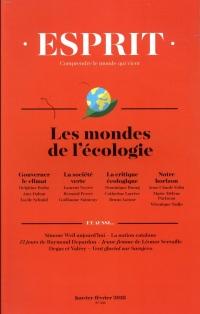 Revue Esprit N 441 les Mondes de l'Écologie