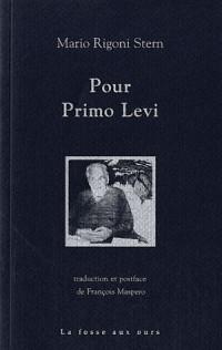 Pour Primo Levi