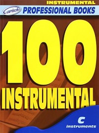 Partitions classique CARISCH 100 INSTRUMENTAL - INSTRUMENTS EN DO Flûte traversière