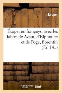 Esopet en Francoys  ed 14