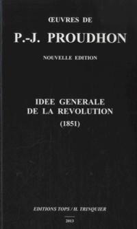 Idée Generale de la Revolution