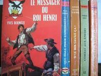lot 5 livres collection gerfaut : mourir a berlin - combat aux enfers - si le roi savait ca - que dale pour langsdale - le messager du roi henri