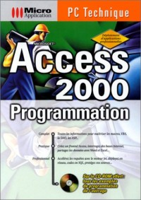 PC technique access 2000 progr