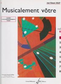 Musicalement Votre Volume 1 Accompagnements Professeur