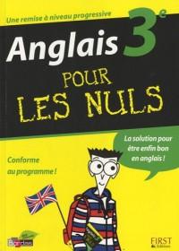 ANGLAIS 3E POUR LES NULS