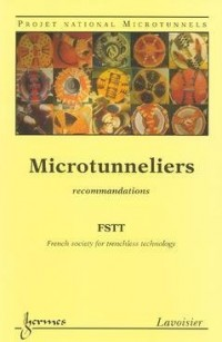 Microtunneliers Projet national Microtunnels : Recommandations