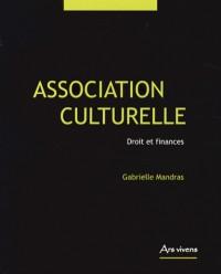 Association culturelle, droit et finances