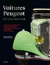 Voitures Peugeot de collection