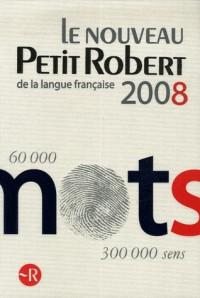 Le Nouveau Petit Robert Grand Format 2008