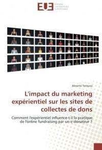 L'impact du marketing experientiel sur les sites de collectes de dons