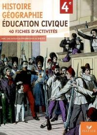 Histoire-Géographie, Education civique 4e