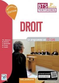 Droit BTS tertiaires 2e année : Le programme en 13 cas