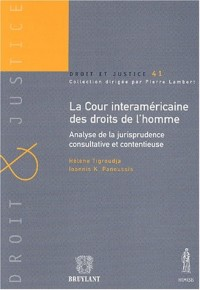 La cour intéraméricaine des droits de l'homme : Analyse de la jurisprudence consultative et contentieuse