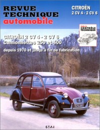 Rta 297.9 Citroën 2 Cv 4 et 6 Fourgonnette (71-90)