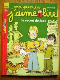 mes premiers j'aime lire n°8 d'avril 2003 - le secret de jaak