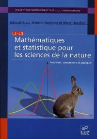 Mathematiques et statistique pour les sciences de la nature