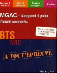 MGAC: Management et Gestion d'Activités Commerciales, BTS NRC