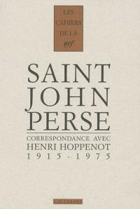 Correspondance: (1915-1975)