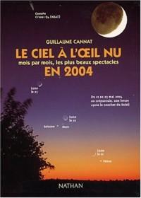 Le ciel à l'oeil nu en 2004