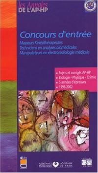 Concours d'entrée : Masseurs kinésithérapeutes - Techniciens en analyses biomédicales - Manipulateurs en électroradiologie médicale