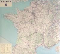 Poster France 100x110 cm : 1/1 000 000