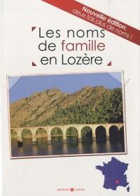 Les noms de famille en Lozère