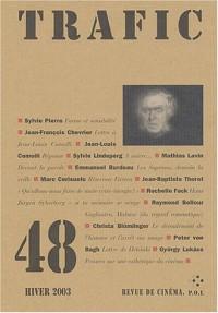 Trafic, numéro 48, hiver 2003 : Revue de cinéma