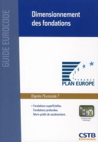 Dimensionnement des Fondations. Fondations Superficielles.  Fondations Profondes. Murs-Poids de Sout