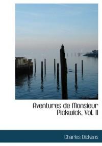 Aventures De Monsieur Pickwick