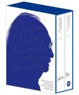 Dictionnaire historique de la langue française : Coffret en 2 volumes