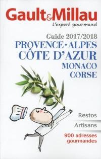 Guide Provence Alpes Côte d'Azur Monaco Corse 2017/2018