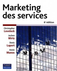 Marketing des services 6ème Ed.