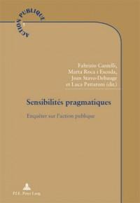 Sensibilites Pragmatiques: Enquêter Sur L?action Publique