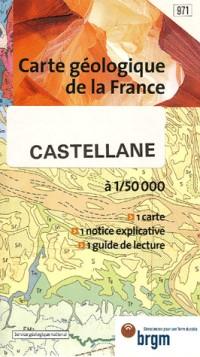 Carte géologique : Castellane