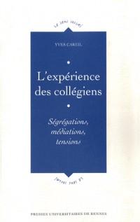 L'expérience des collégiens : Ségrégations, médiations, tensions
